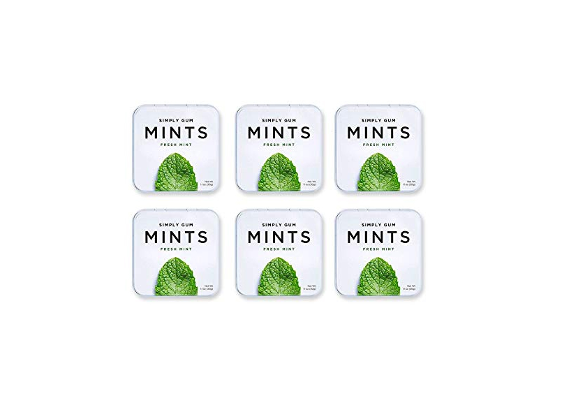 Natural Breath Mints by Simply Gum