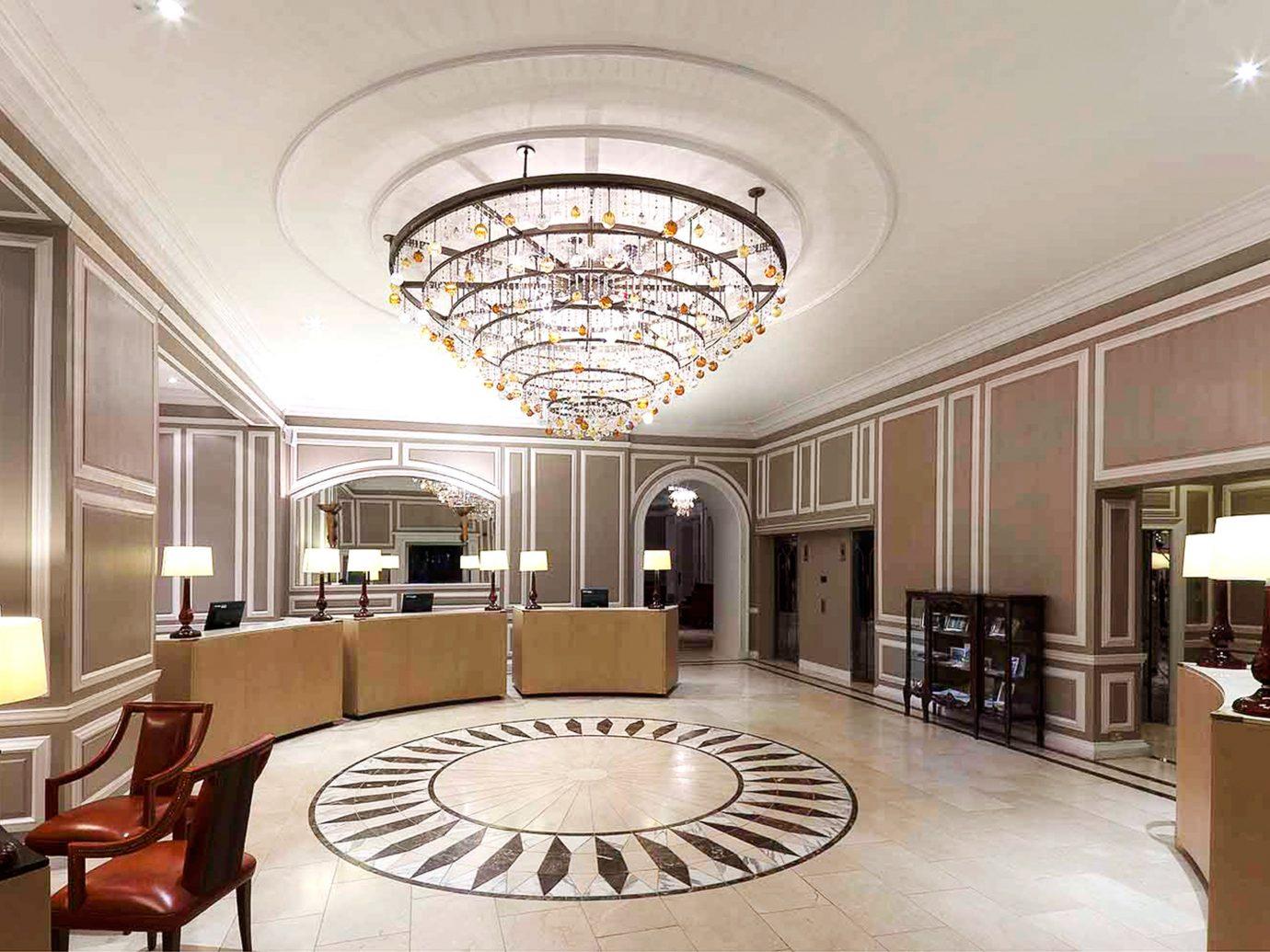 Lobby at Waldorf Astoria Caledonian