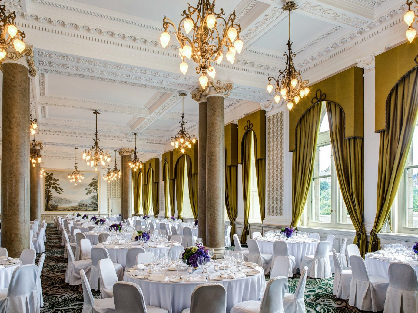 Dining room at The Balmoral
