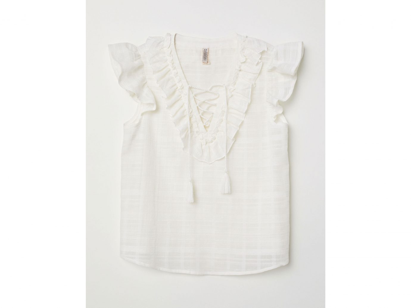 H&M Top with Ruffles