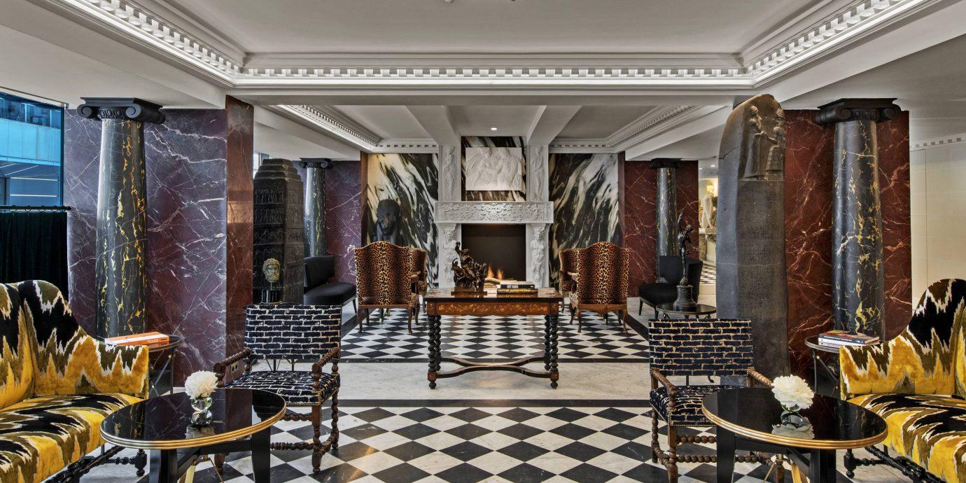 Lobby view at Hotel de Berri