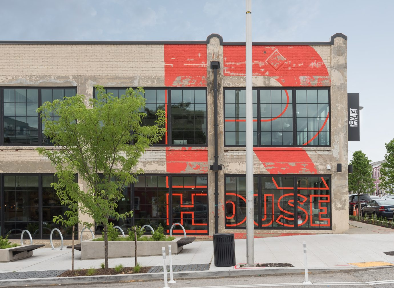Facade of R. House in Baltimore