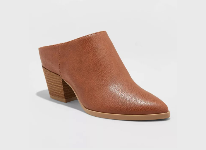 Women's Makana Faux Leather Heeled Mule
