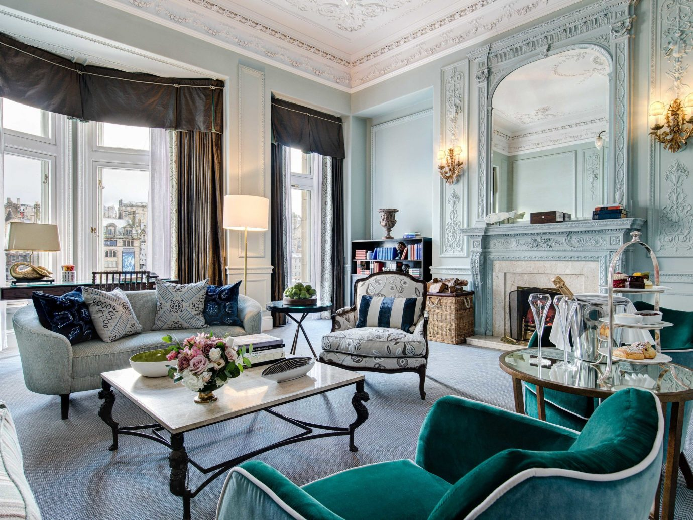 Living room at The Balmoral