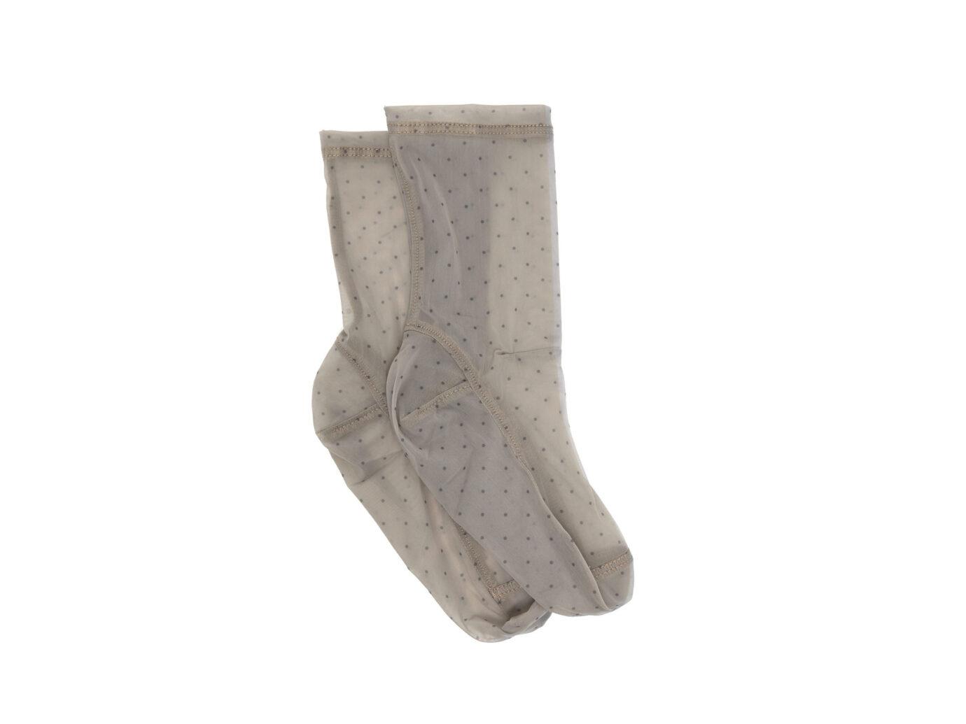 Darner Socks Polka Dot Mesh Socks