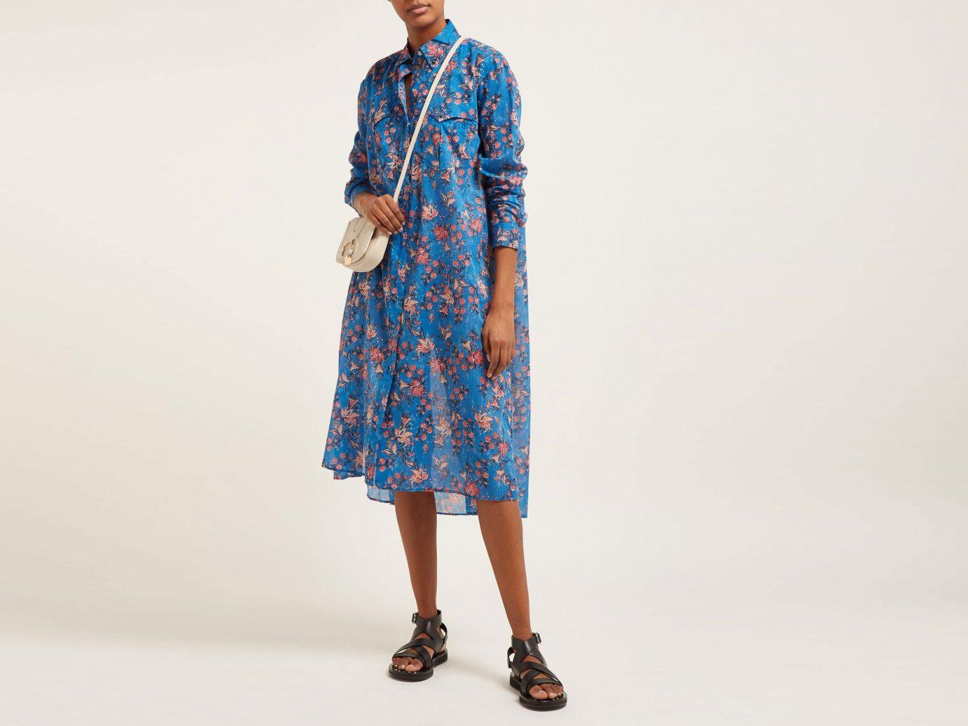 Isabel Marant Etoile Eliane floral-print cotton-voile midi dress
