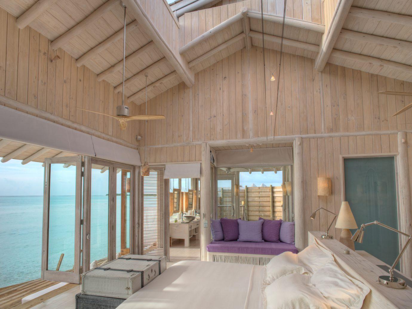 Bedroom at Soneva Jani