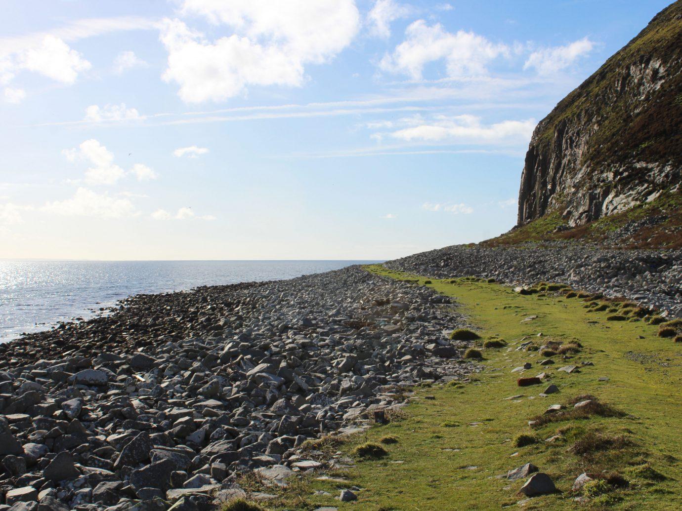 Ailsa Island in Scotland