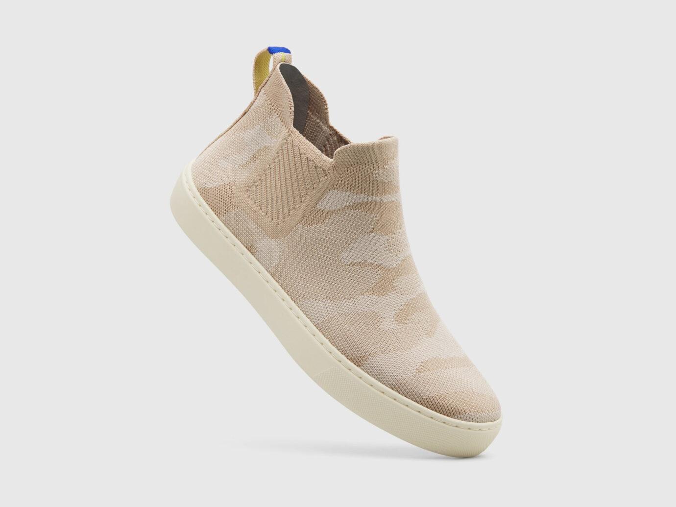Rothy's Sand Camo Chelsea Shoe