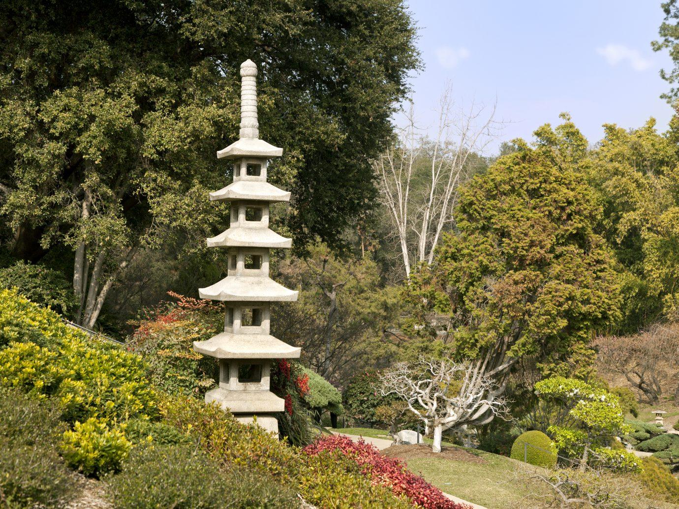 Huntington Japanese Garden in San Marino, California, USA.