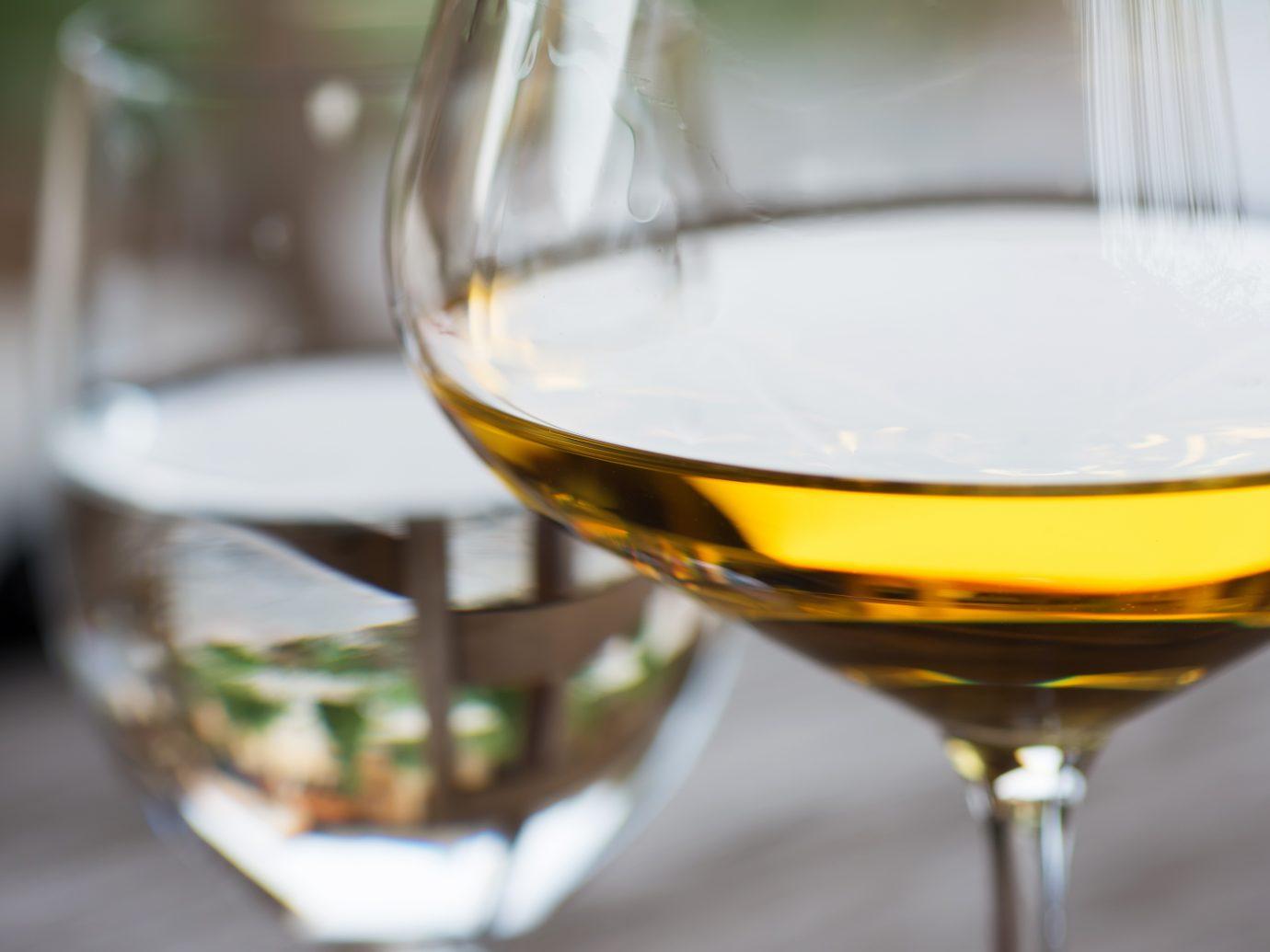 Glass of Chardonnay White Wine Close UpGlass of Chardonnay White Wine Close Up
