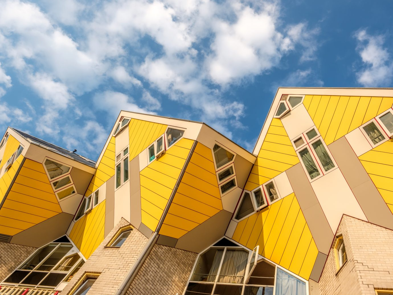 Cube houses in Rotterdam.