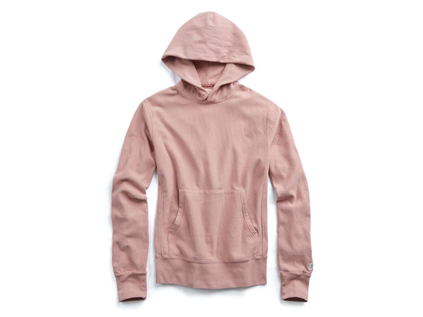 Todd Snyder Fleece Popover Hoodie Sweatshirt