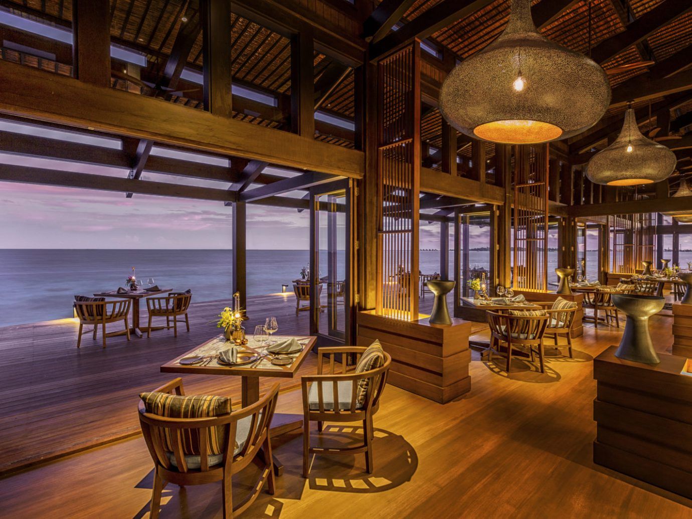 Restaurant of Kudadoo Maldives Private Island