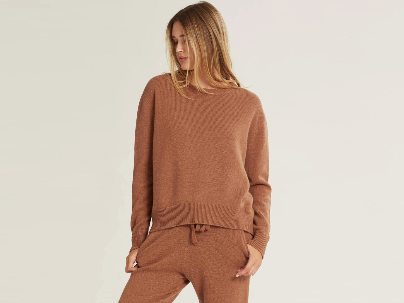Naked Cashmere Kaia Sweater in Chestnut