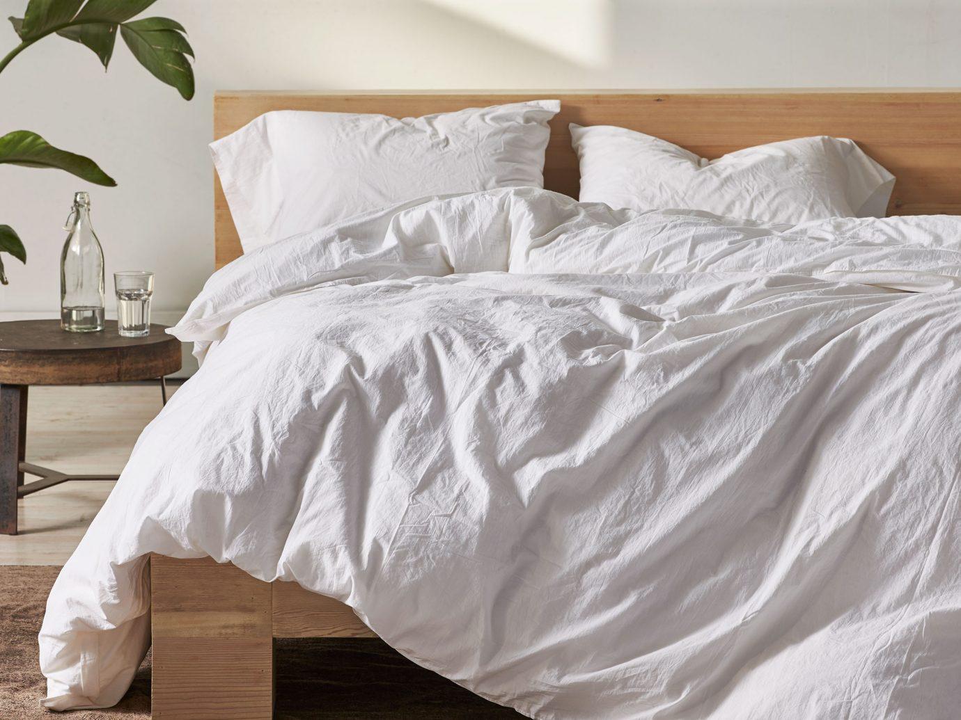 Coyuchi Organic Crinkled Percale Sheets