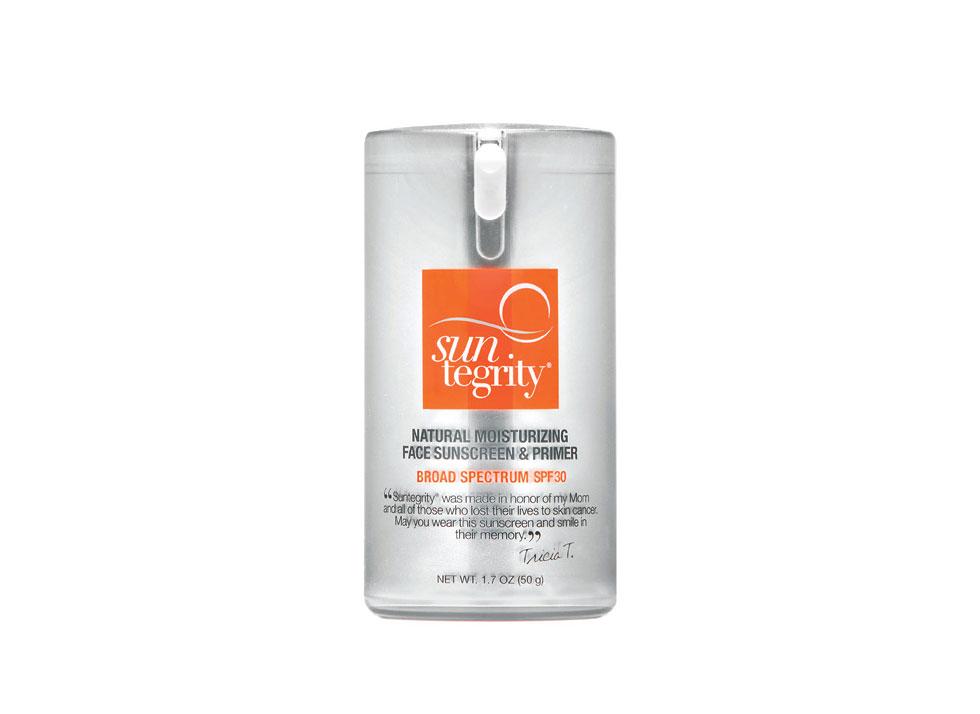 Suntegrity Natural Moisturizing Face Sunscreen and Primer