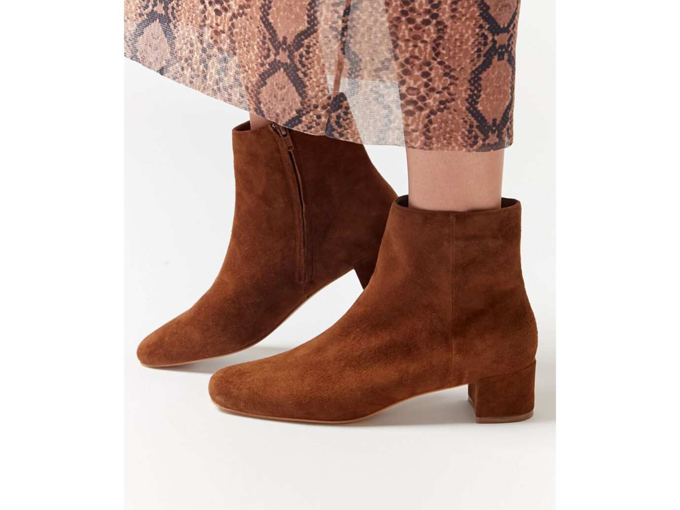 UO Elle Suede Ankle Boot