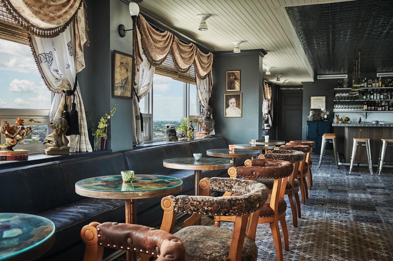 Dining room at Hot Tin