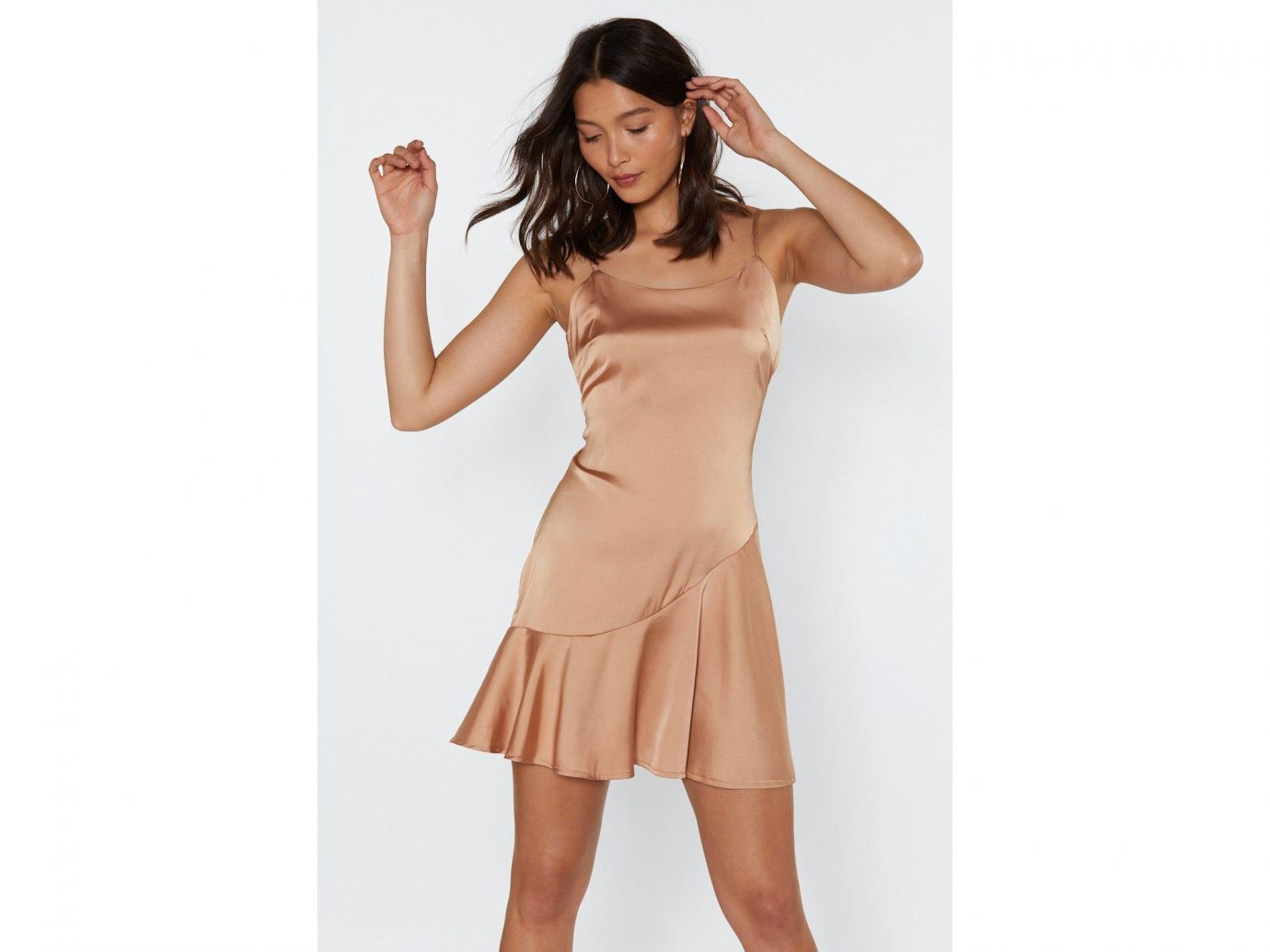 So Vain Satin Dress