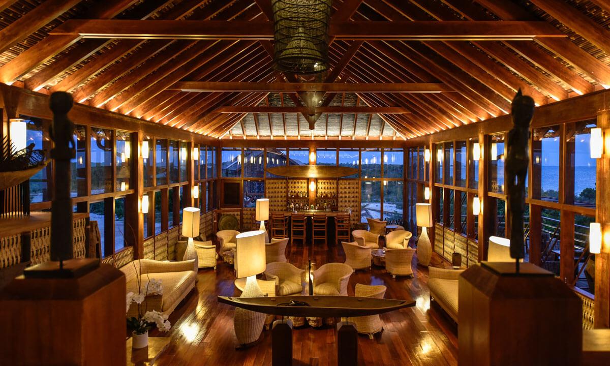 Restaurant at Barbuda Belle Hotel