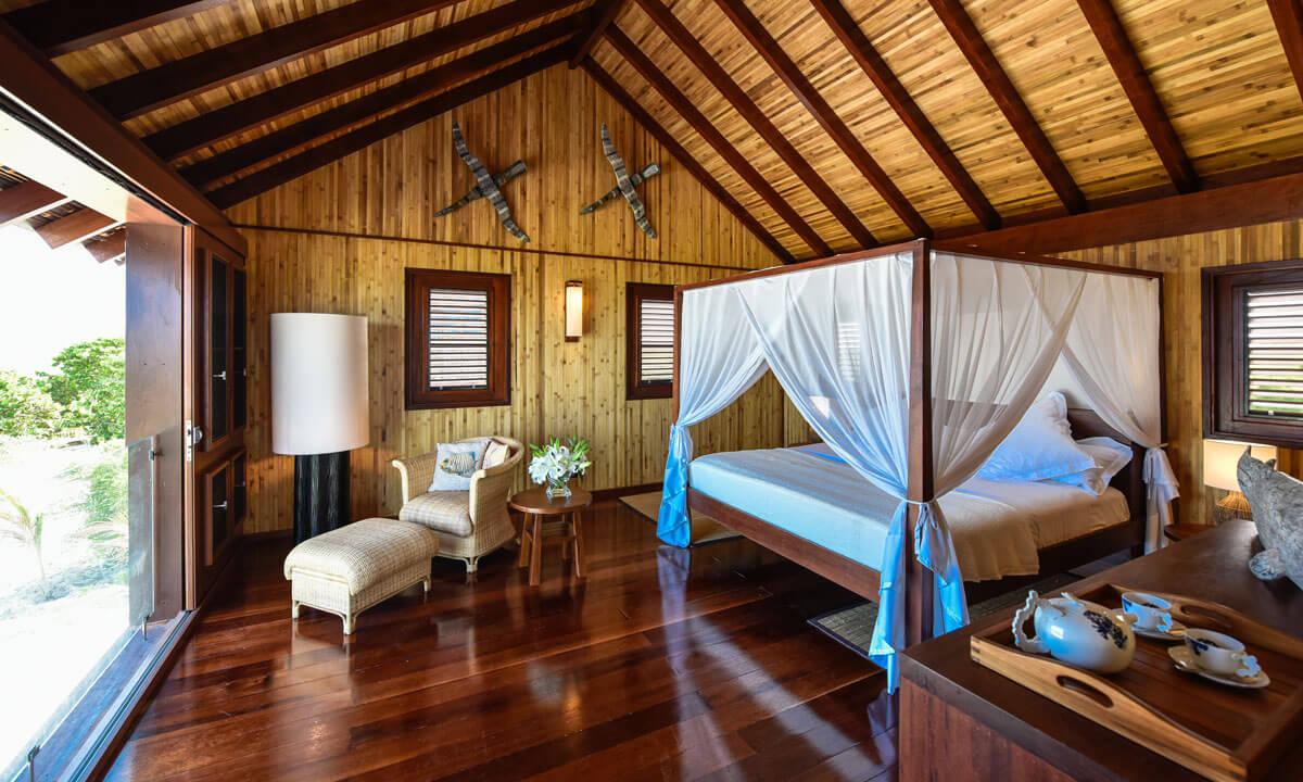 Bedrooom of Barbuda Belle Hotel