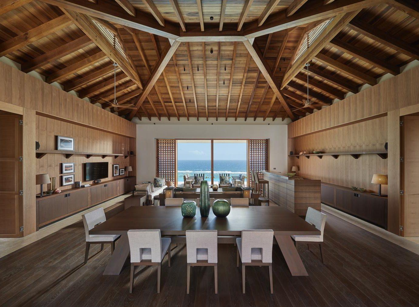 Living room at Mandarin Oriental Canouan