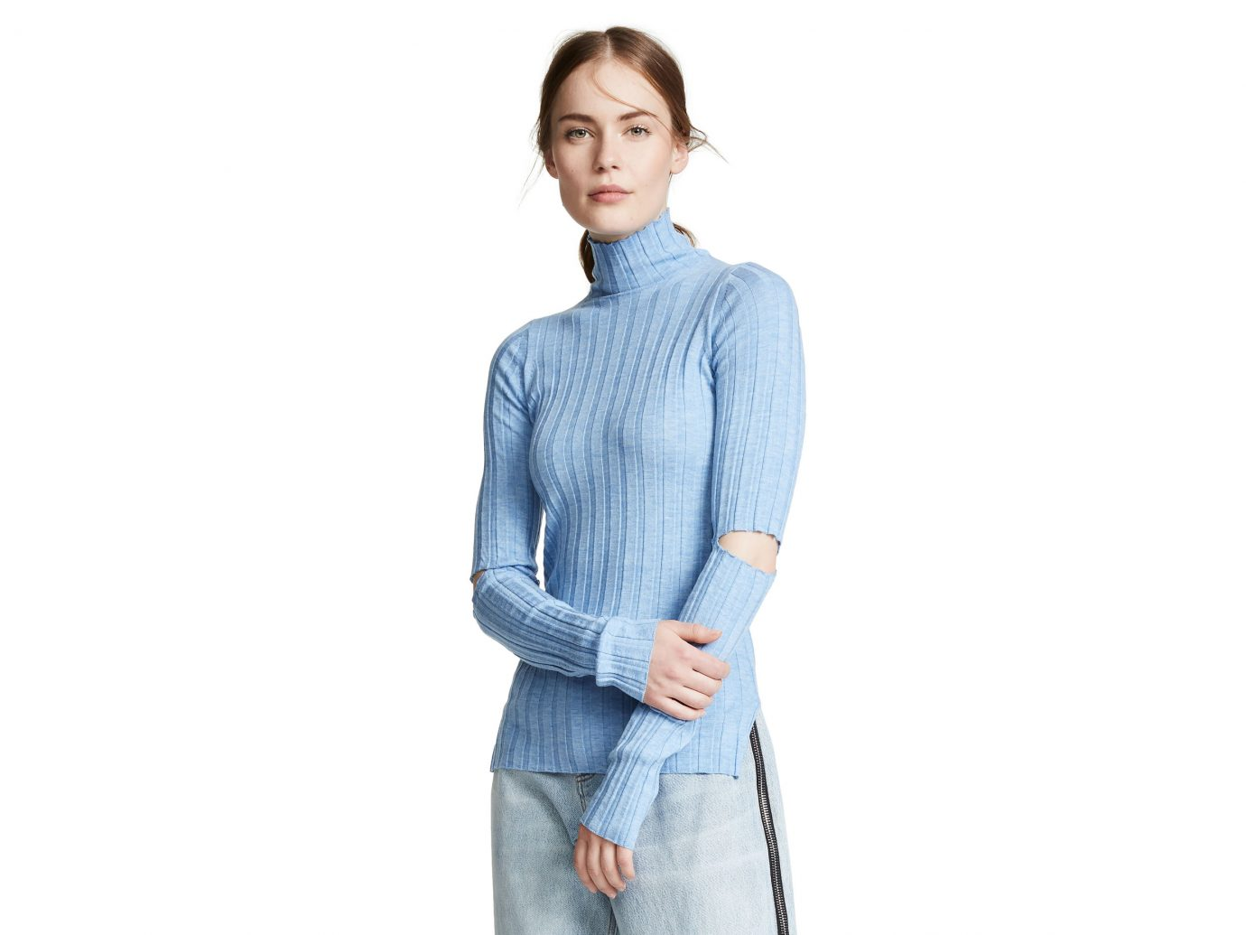 Helmut Lang Slash Rib Knit