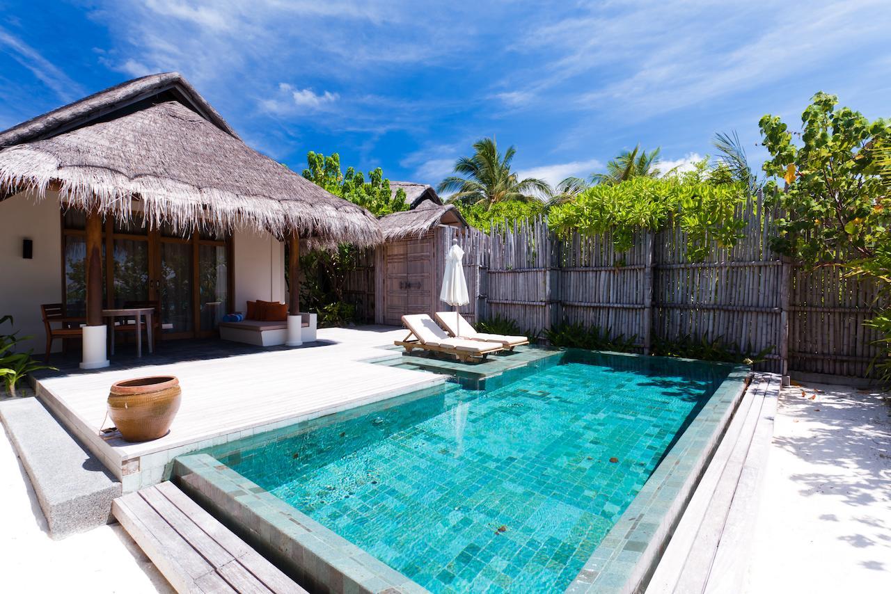 Pool at Anantara Dhigu Maldives