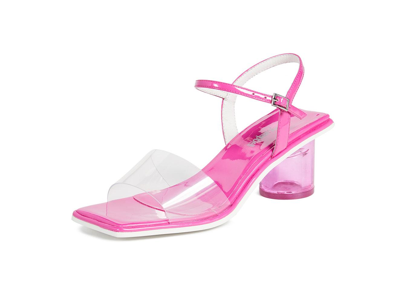 Jeffrey Campbell Futuro Ankle Strap Sandals