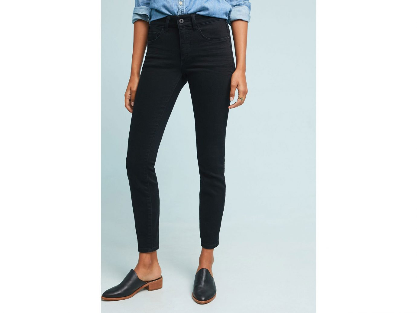 Pilcro High-Rise Skinny Jeans