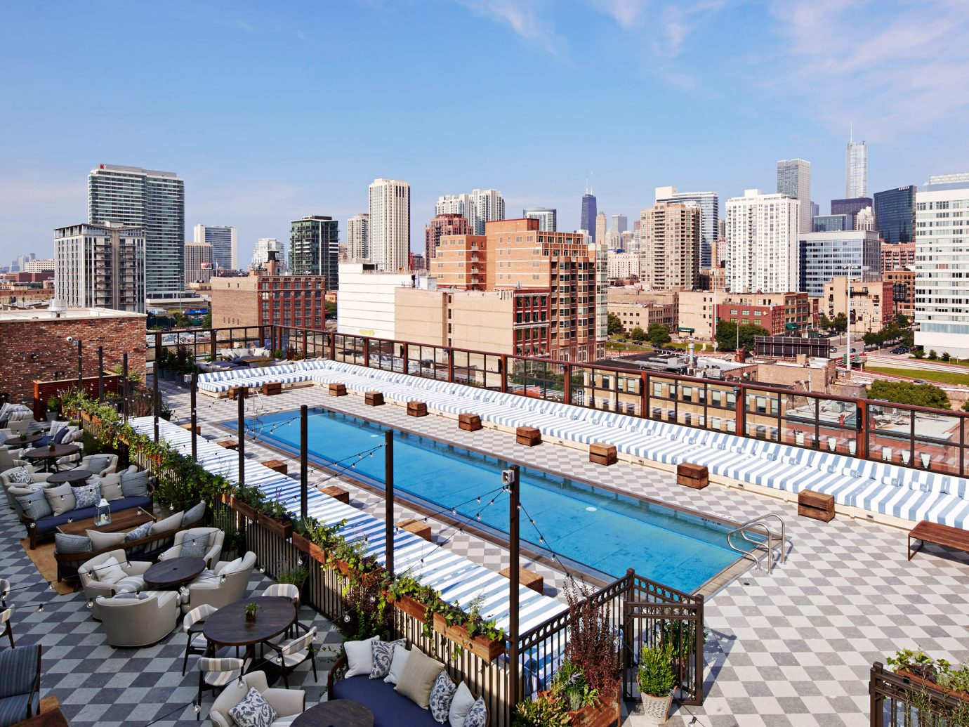 Pool at Soho House Chicago