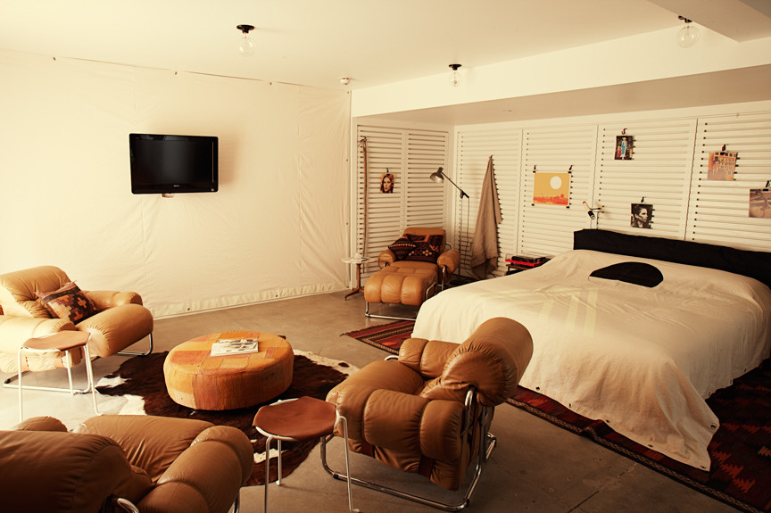 Bedroom at Ace Hotel Palm Springs