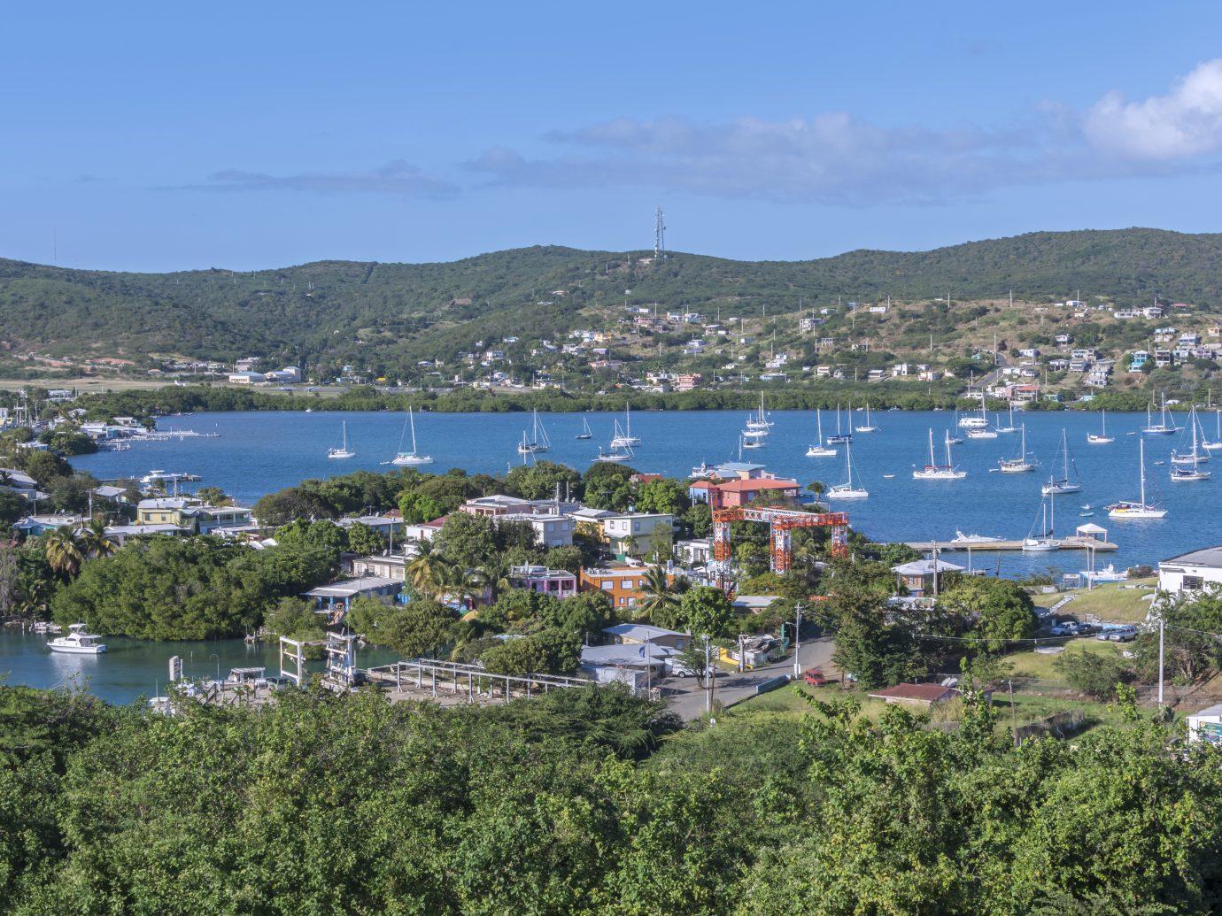 Puerto Rican island of Isla Culebra in the Caribbean Sea