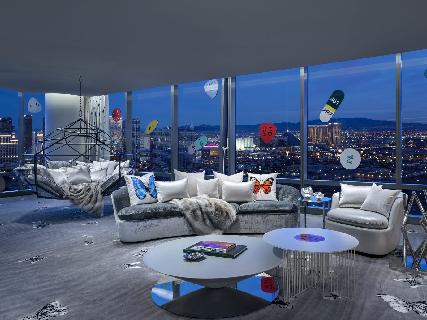 Damien Hirst designed Empathy Suite, Palms Casino Resort Las Vegas