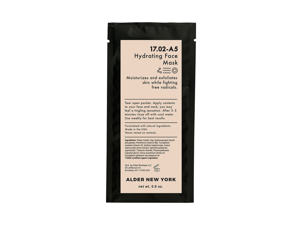 Alder New York Hydrating Face Mask