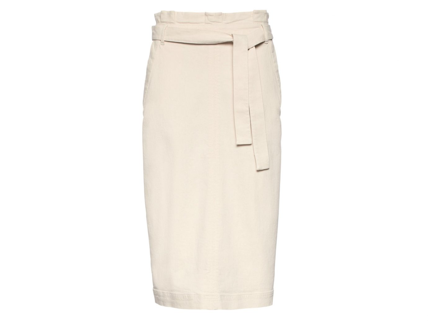 Banana Republic Paper-bag Waist Denim Skirt