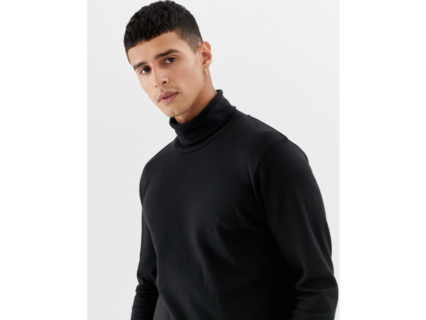 Selected Homme roll neck long sleeve top