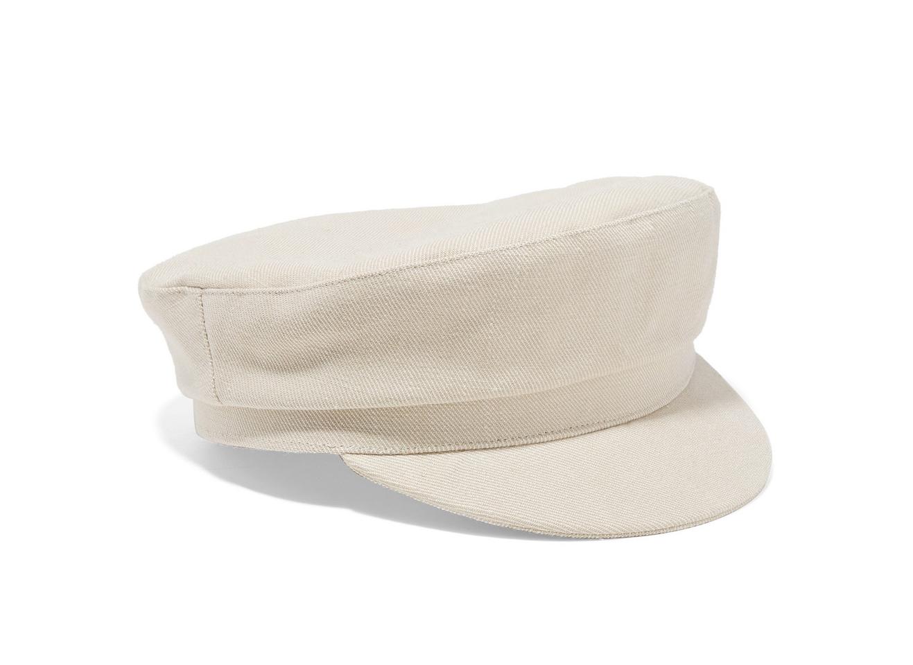 Isabel Marant Evie Cotton-drill cap