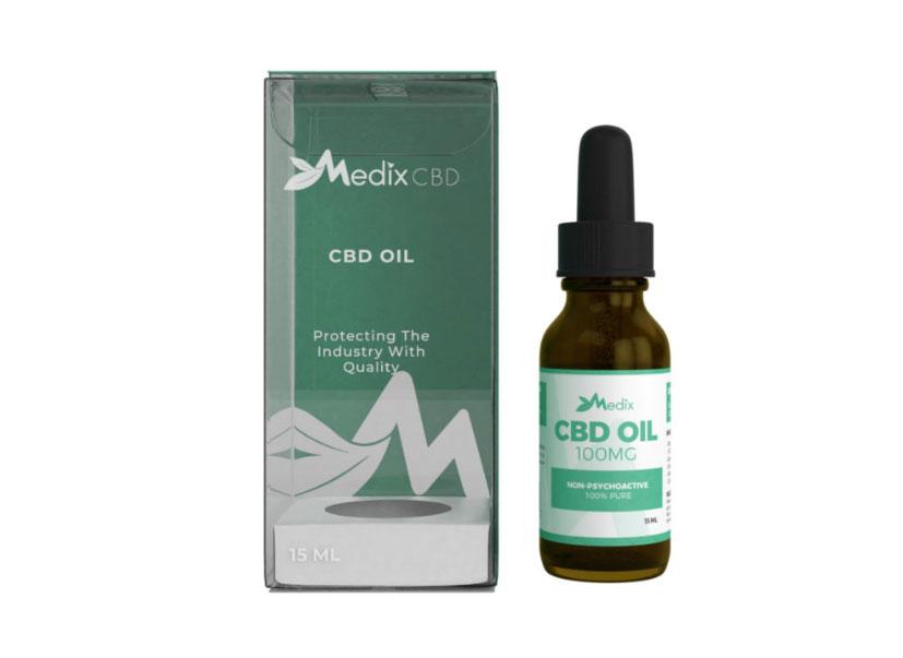 Medix CBD Oil Sublingual Tincture