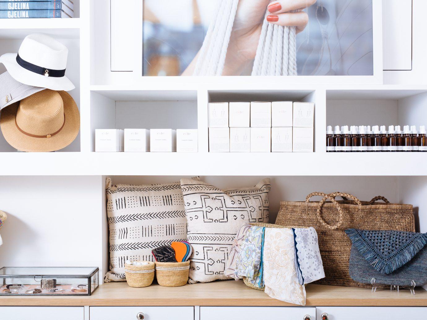 Interior/shop at Cote Nail Salon
