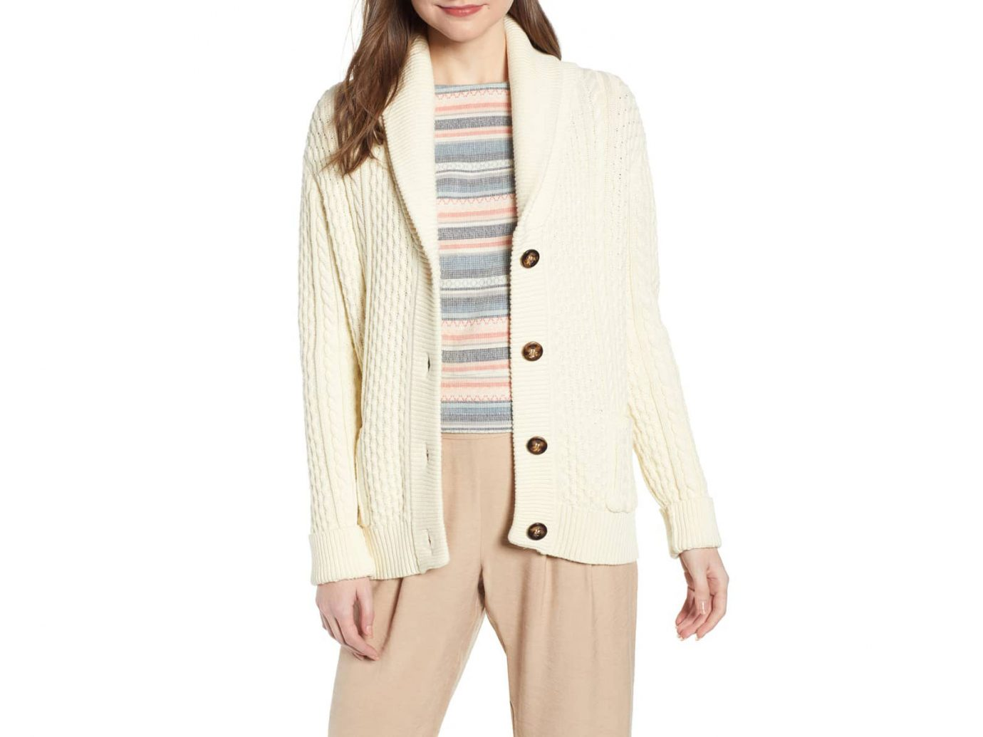 Damsel x THE ODELLS Fisherman Cardigan