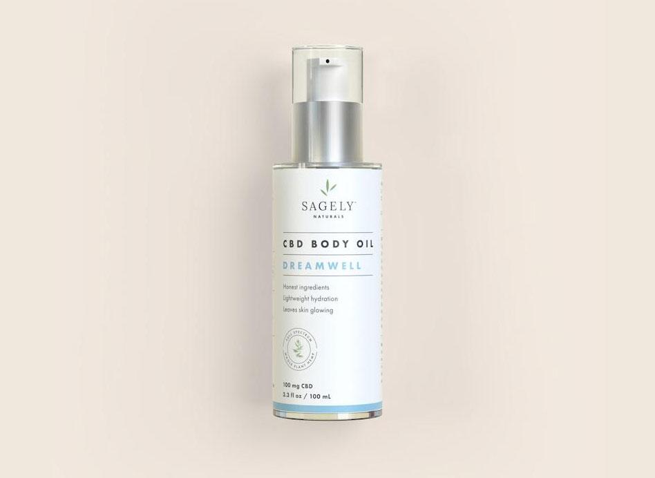 Sagely Naturals Dreamwell CBD Body Oil