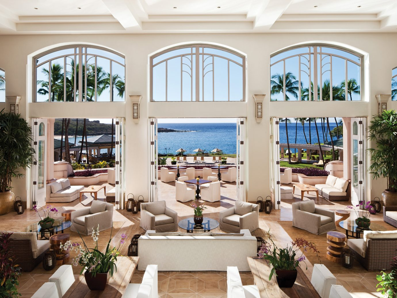 Lobby at Four Seasons Resort Lanai