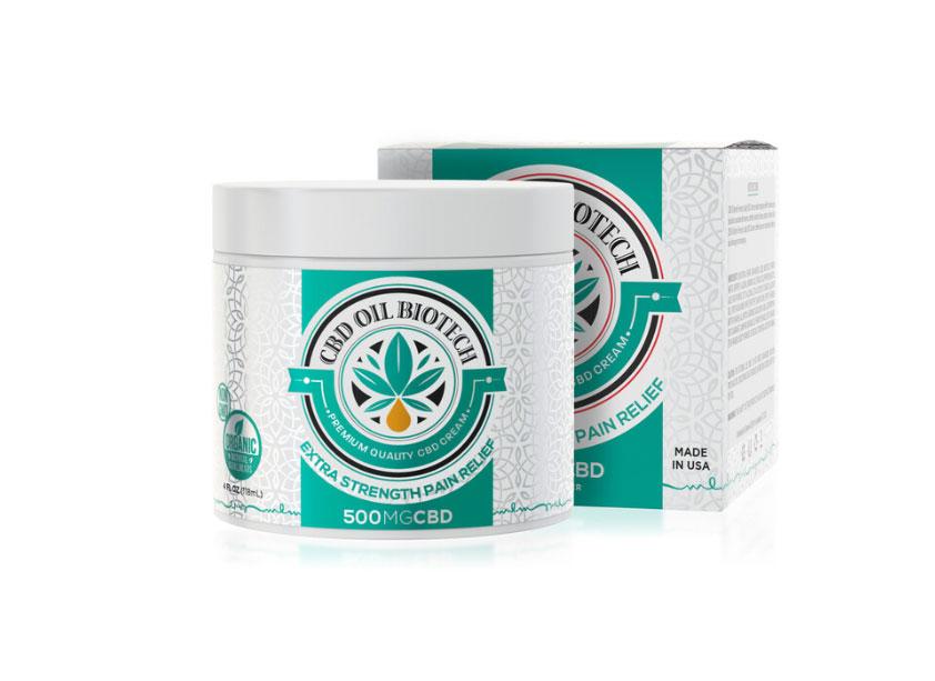Biotech CBD Pain Relief Cream