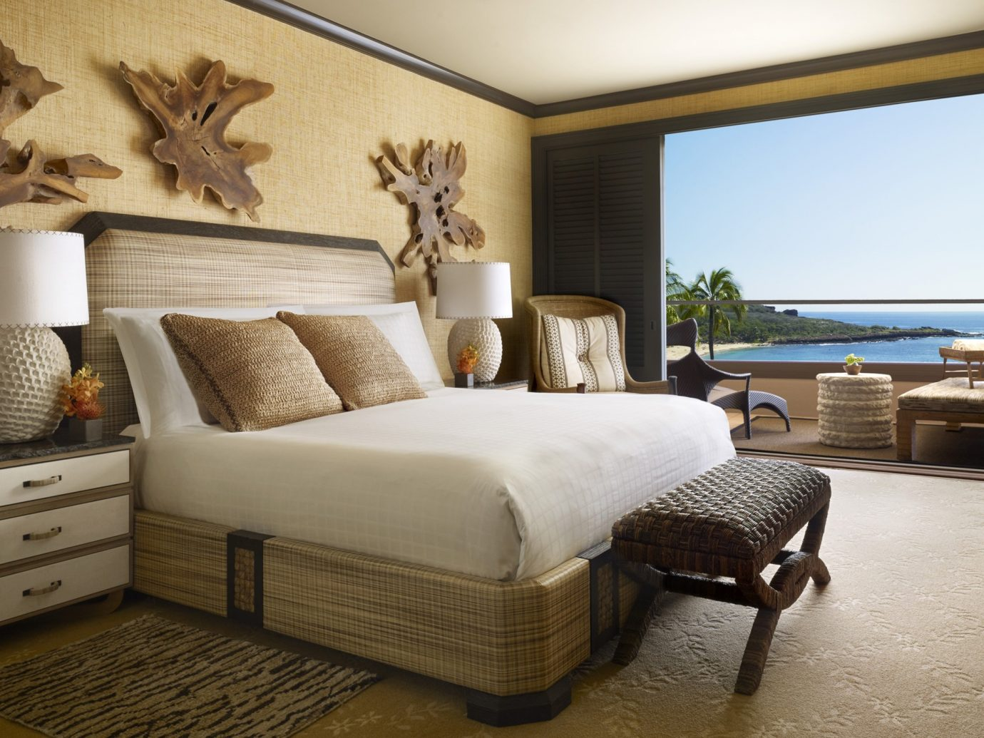 Bedroom at Four Seasons Resort Lanai