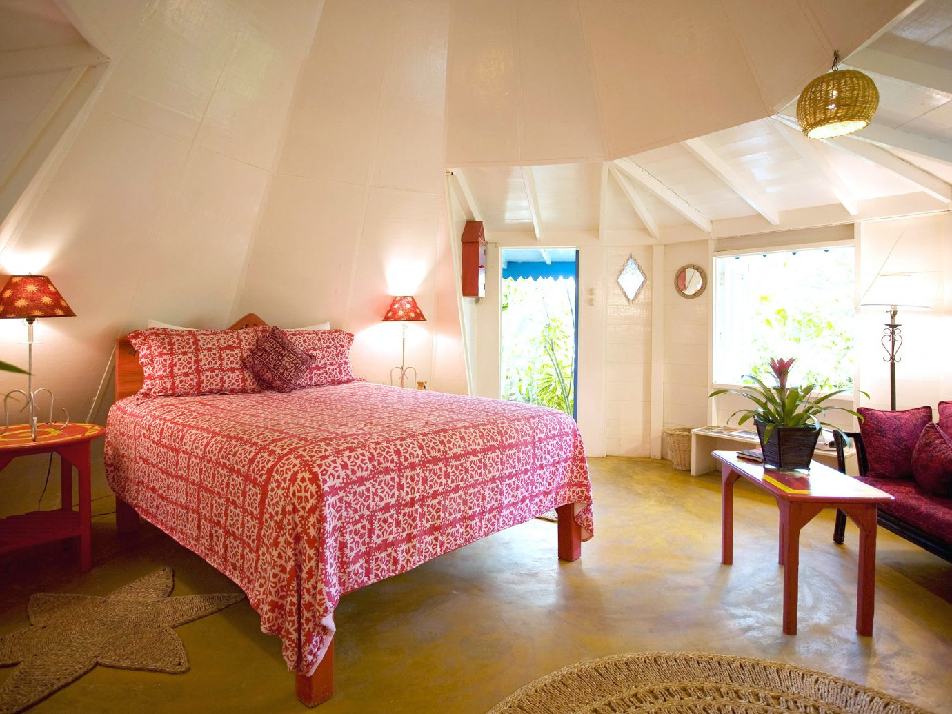 Bedroom at The Caves in Jamaica