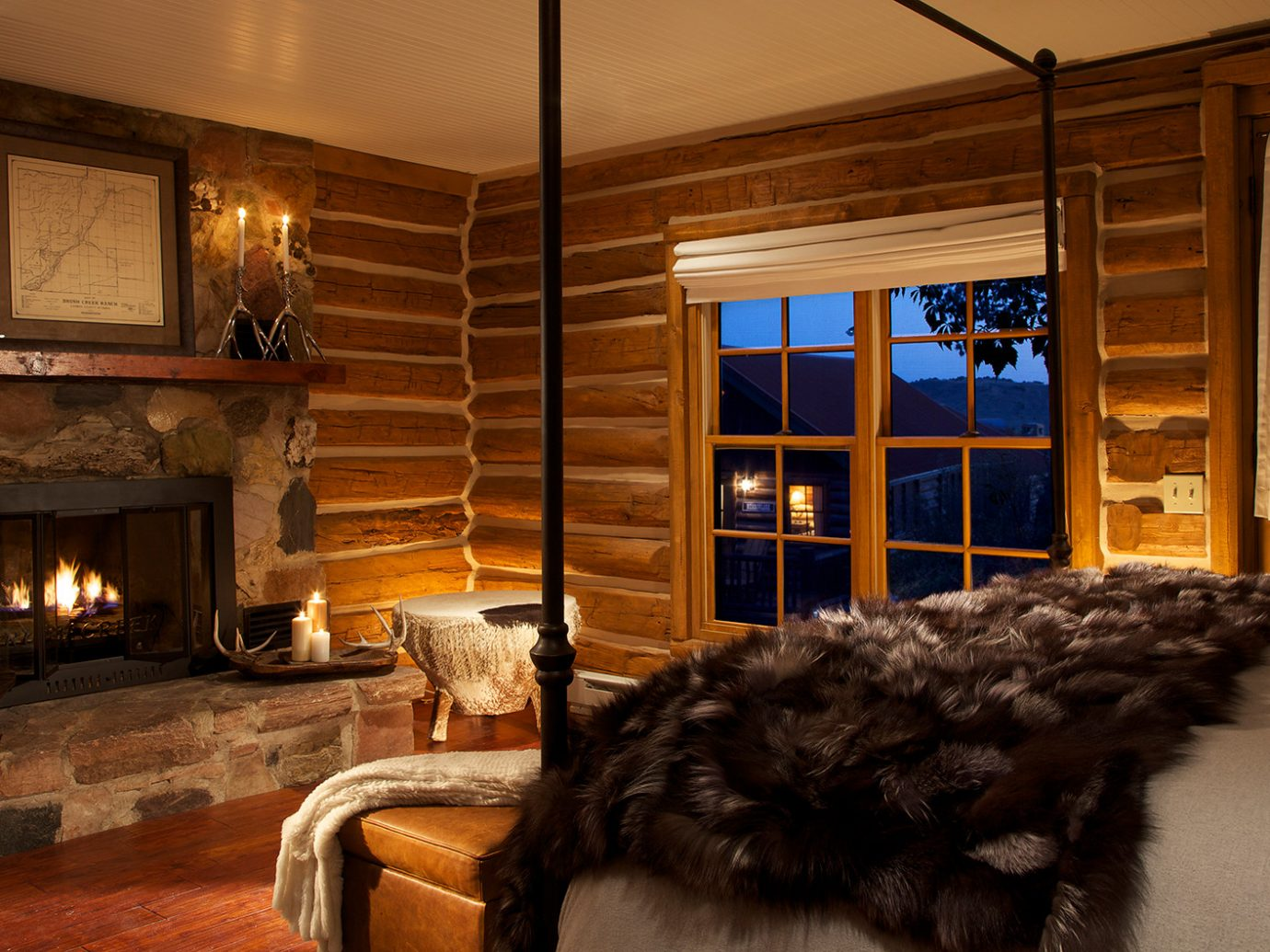 Bedroom at Brush Creek Ranch