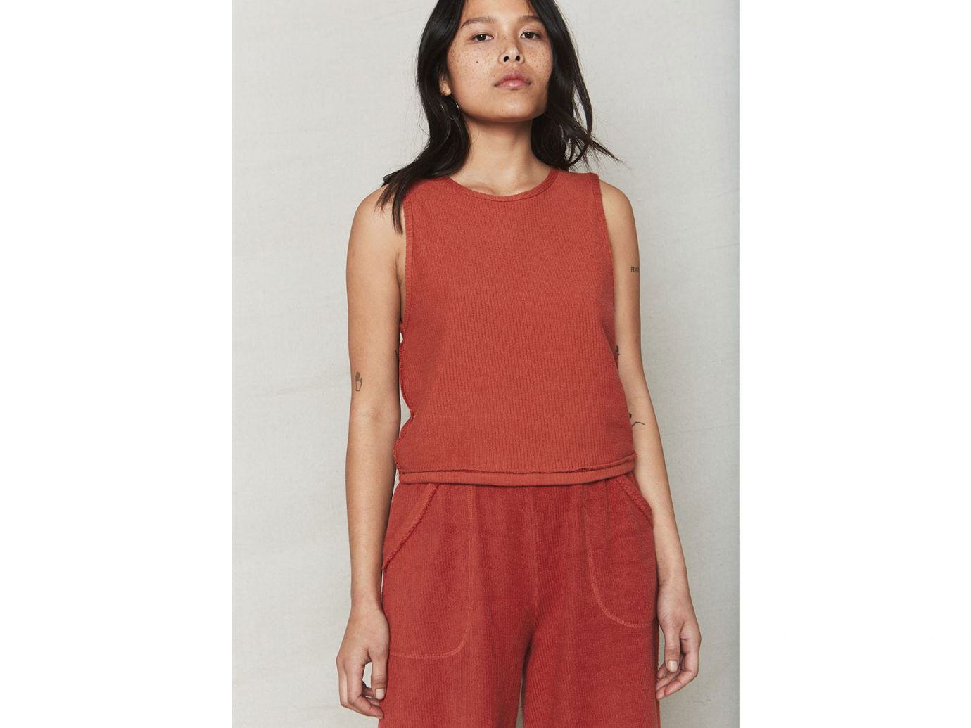 Back-Beat-Rags Sienna Cali Organic Cotton Crop