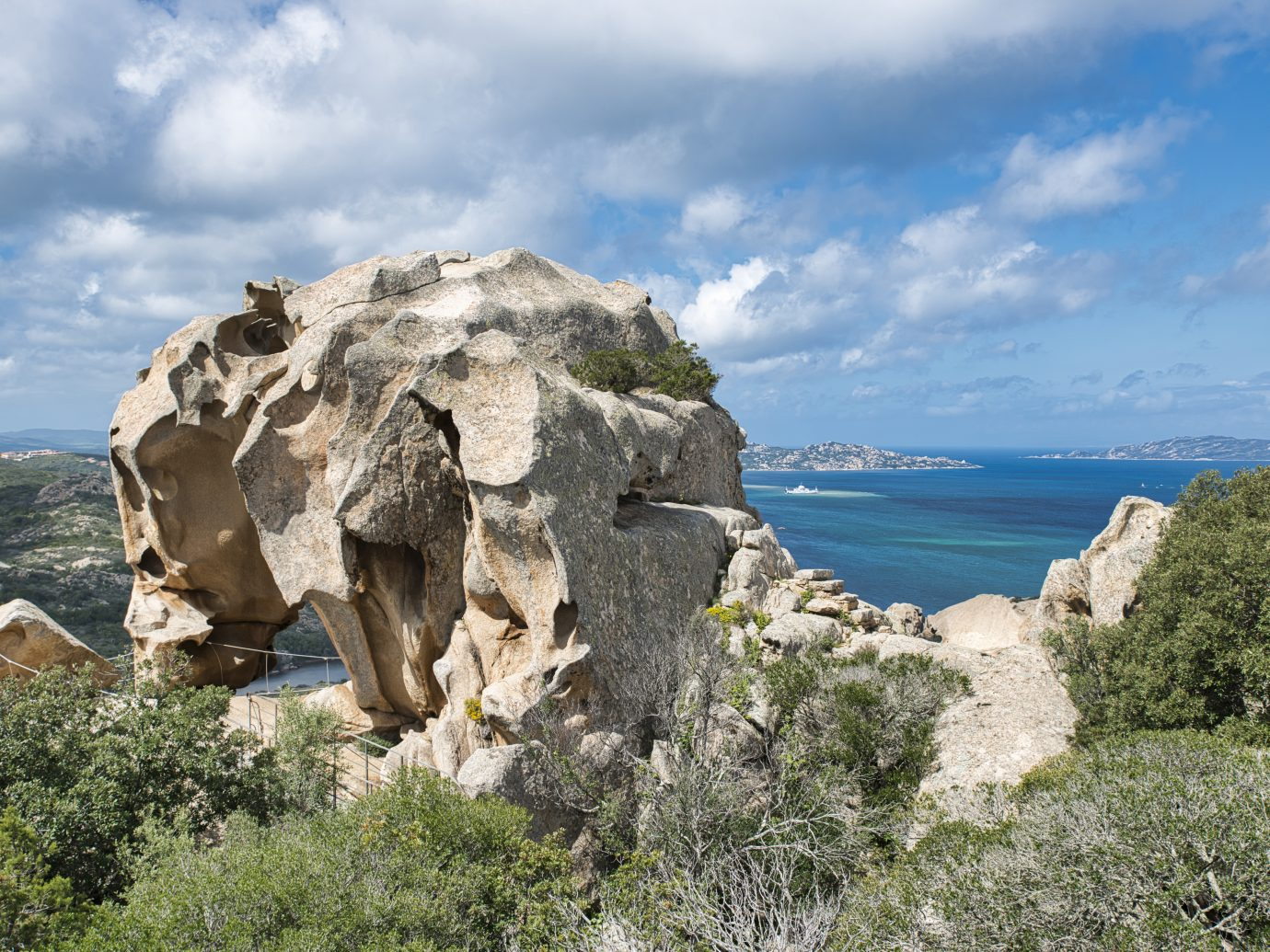 Capo d'Orso in Sardinia, Italy